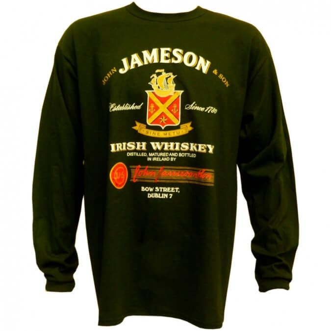 Jameson whiskey shirt