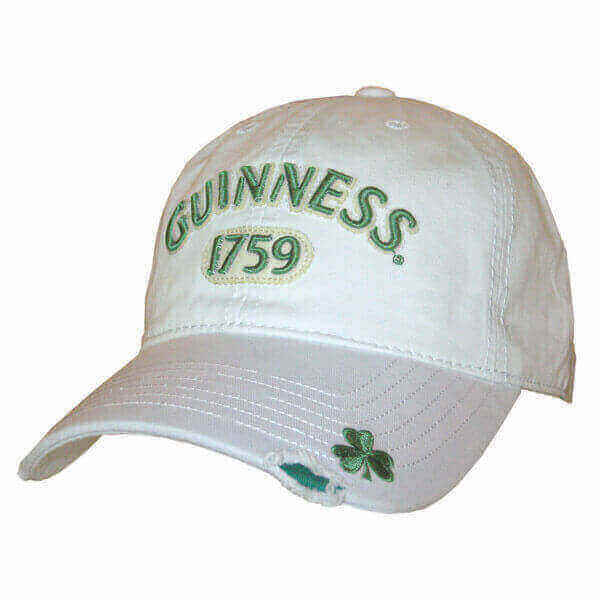 6dc1a1329a1 Guinness Cap Shamrock - Comfortably Irish