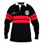 Guinness Rugby Shirt - Black and Red