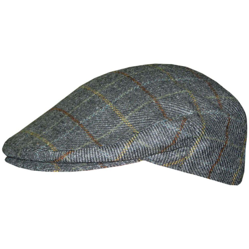 1bf5bf877cb0d Irish Tweed Flat Cap - Plaid - Comfortably Irish